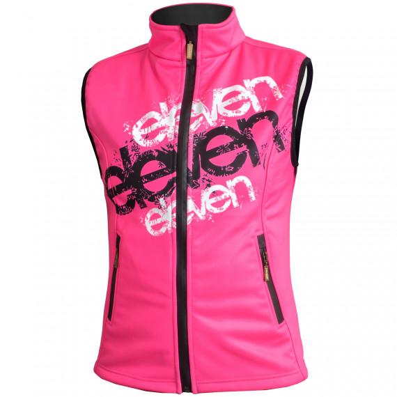 Softshell vest Pink Eleven