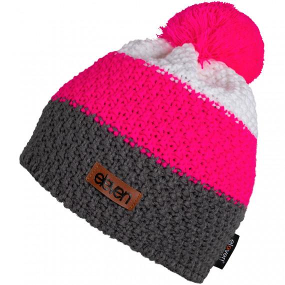 Strickmütze Eleven POM Pink