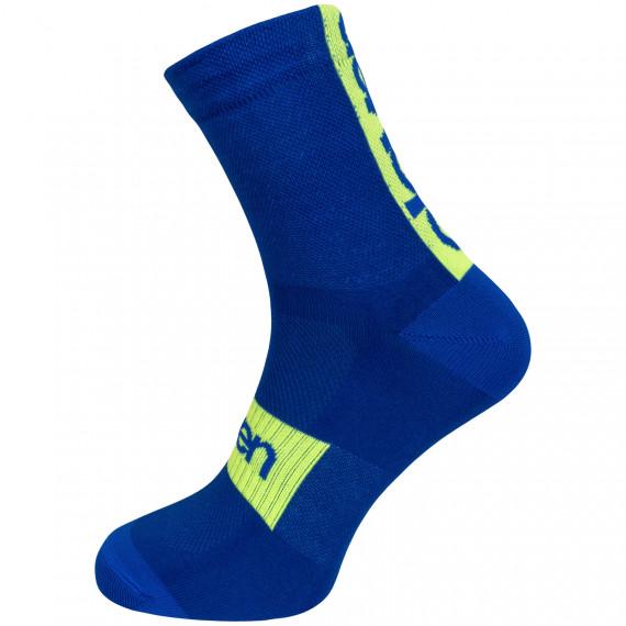 Socken verlängert SUURI Akiles Blue