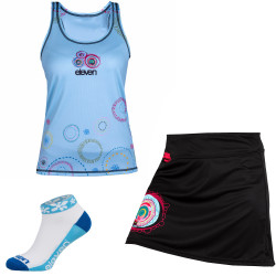 Rock + Lauftop-Set Eleven Retro 17
