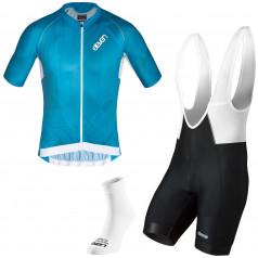 Herren Radsport-Set Eleven Pro Aqua