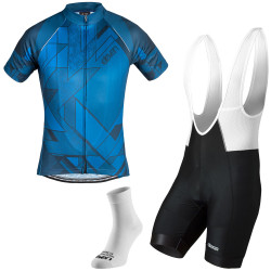 Herren Radsport-Set Eleven Score Blue