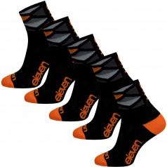 Socken Eleven Howa Rhomb Orange 5 Pack