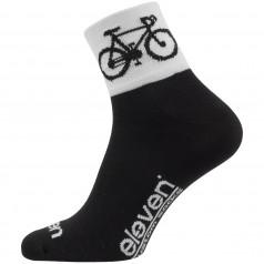 Socks HOWA ROAD black/white