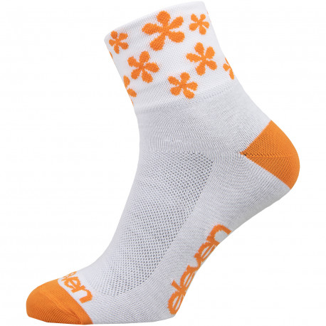 Socks HOWA Flower Orange