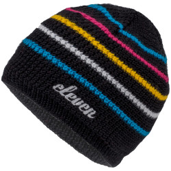 Knitted hat Eleven stripes