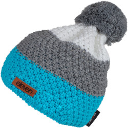 Knitted beanie Eleven POM Blue/Green