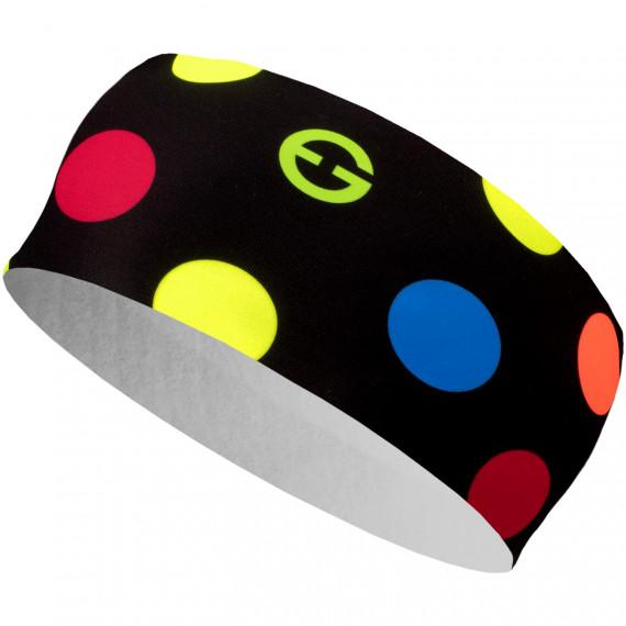Headband ELEVEN HB Dolomiti Dots Color Black