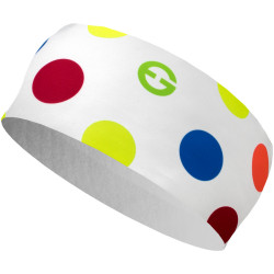 Headband ELEVEN HB Dolomiti Dots Color White